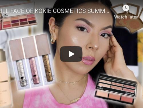 TheMexicanBeauty Kokie Cosmetics YouTube Review