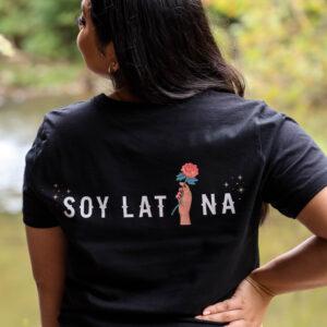 Soy Latina Black Tshirt